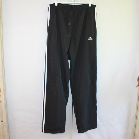 adidas Other - Adidas Men's Small Black Track Pants